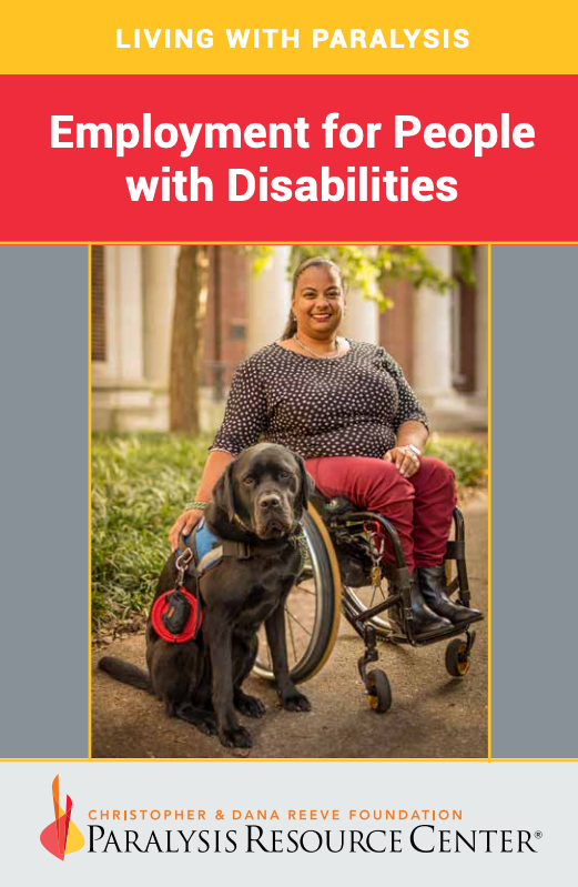 Employment for People with Disabilities booklet cover