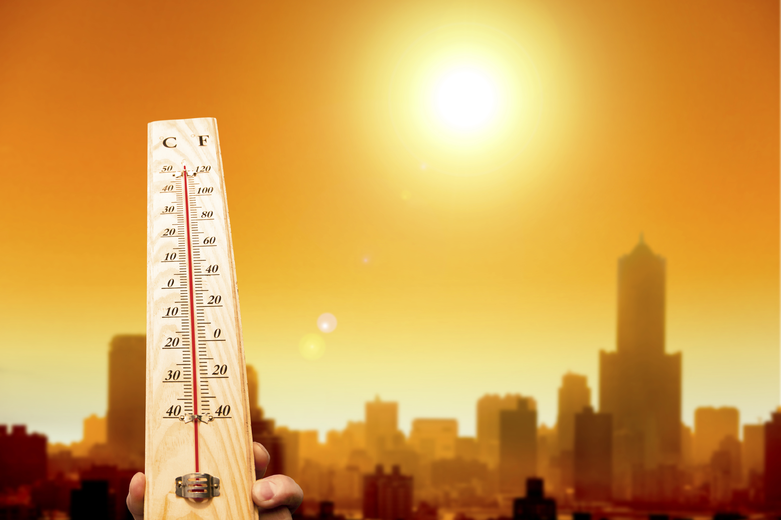 summer heat- thermometer