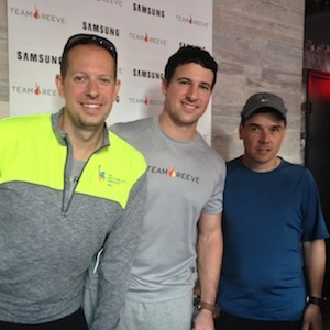 Samsung & Team Reeve for the NYC marathon