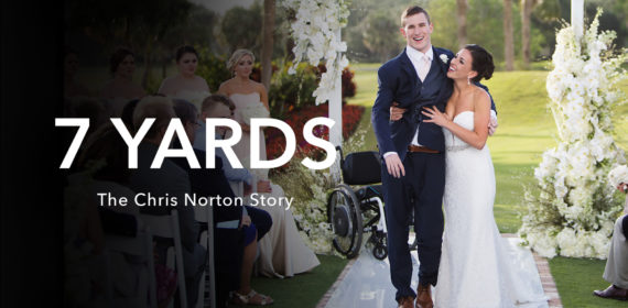 Screening of 7 Yards: The Chris Norton Story and Live Q&A with Chris Norton