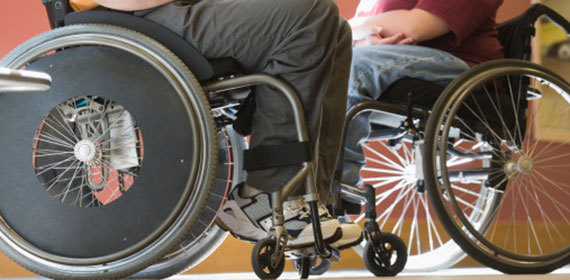 Protect Access to Wheelchairs and Components