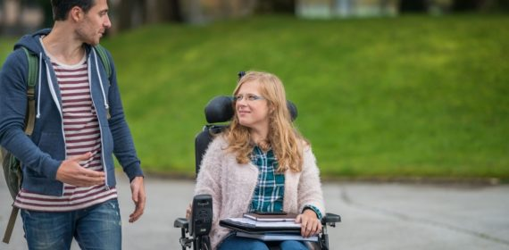Transitioning to College for Students with Paralysis