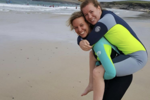Getting back in the water | Guest Blogger Suzanne Edwards