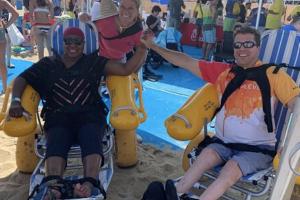 A Day At The Beach With Reeve: Asbury Park, NJ  & Beach Accessibility
