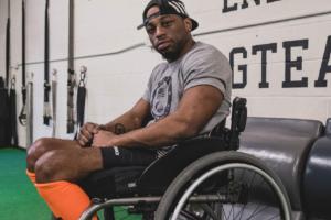 Ser negro, paralizado y un estadounidense