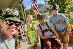 Adapting in Lederhosen in Honor of Oktoberfest