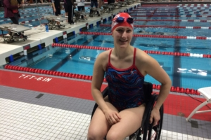 Meredith Koch: Ending piano violence, Ted-Talking, and swimming toward the 2020 Paralympic games