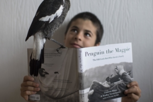 """Penguin the Magpie"" gives back: international bestselling book supports the Reeve Foundation"