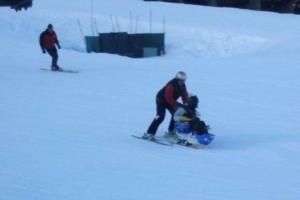 Back on the Slopes; Adaptive Skiing