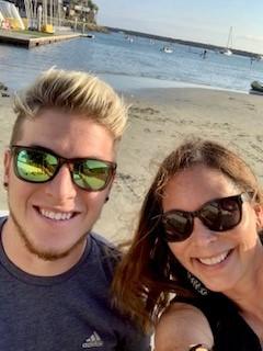 Collie family selfie