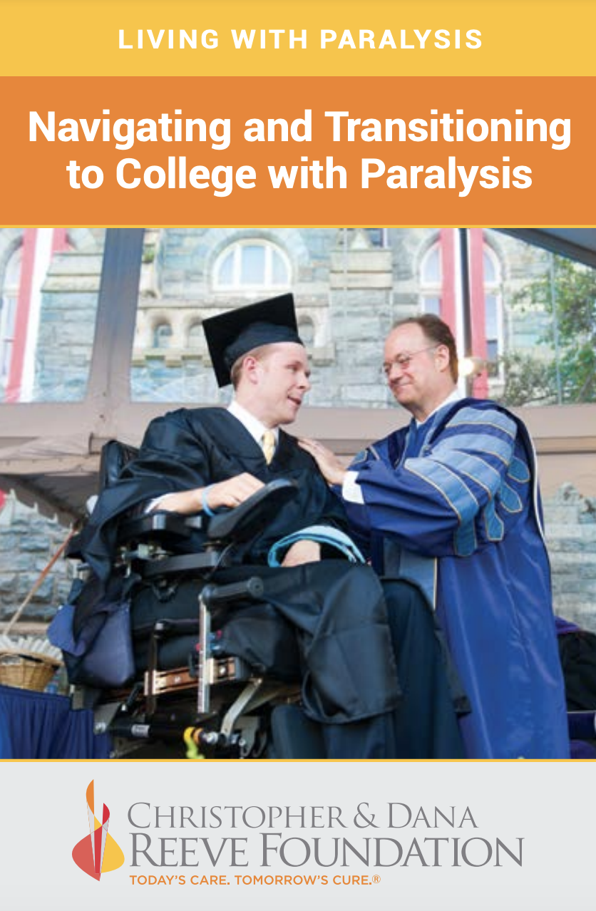 Navigating and Transitioning to College with paralysis