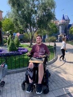 Zack in Disney