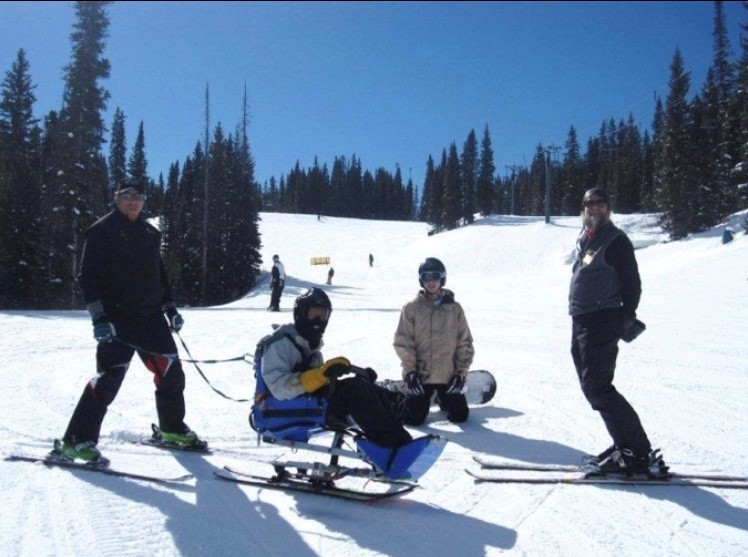 Collie Family Skiing