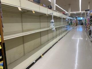 Empty Shopping Aisles