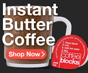 Instant Butter Coffee --> Coffee Blocks
