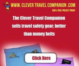 travel safety gear