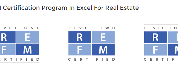 Guest Post by Spencer Burton: Why I'm REFM Excel for Real Estate Certified