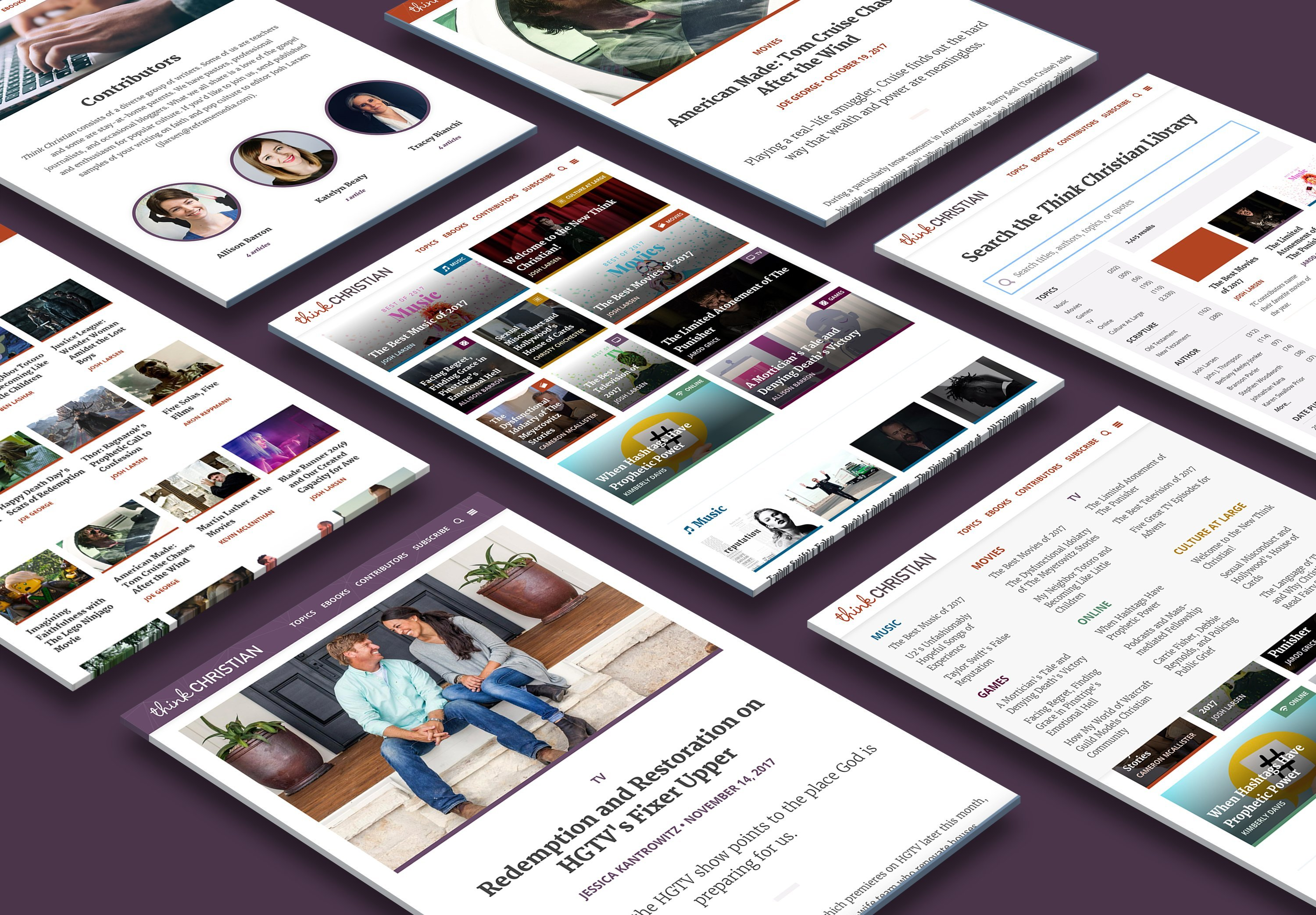 A New Website, A New Think Christian Experience