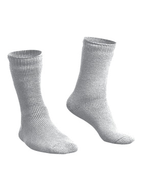 Brushed Thermal  Sock White - Originally $15