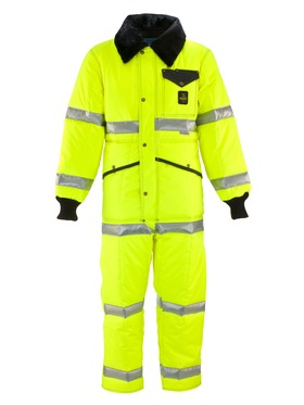 Hivis Iron-Tuff Coveralls with Reflective Tape