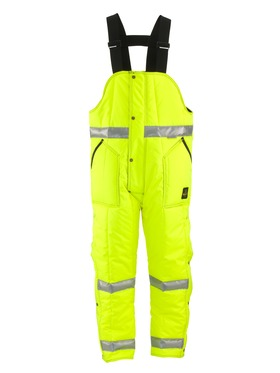 HiVis Iron-Tuff High Bib Overall with Reflective Tape