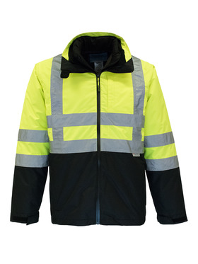 HiVis 3-in-1 Insulated Jacket