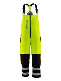 HiVis Insulated Softshell High Bib