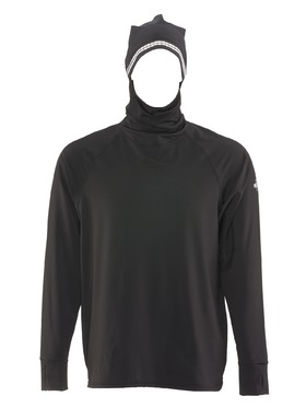 Flex-Wear Hooded Base Layer