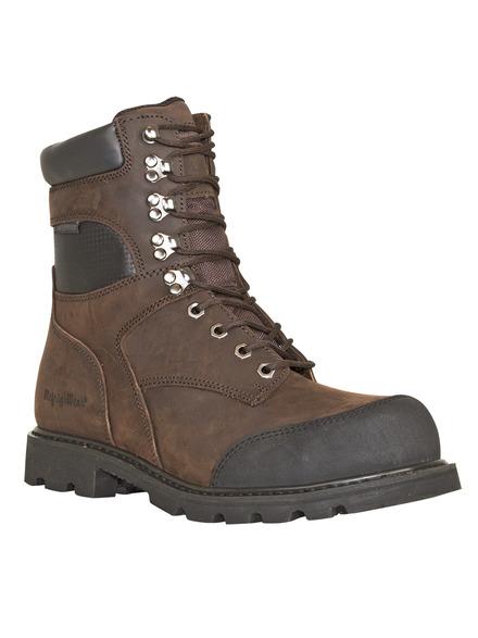 platinum leather boot