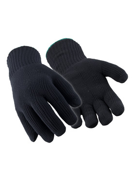 Dual-Layer Knit Gloves