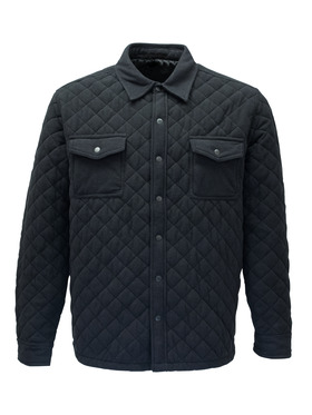 Quilted Microfleece Jacket