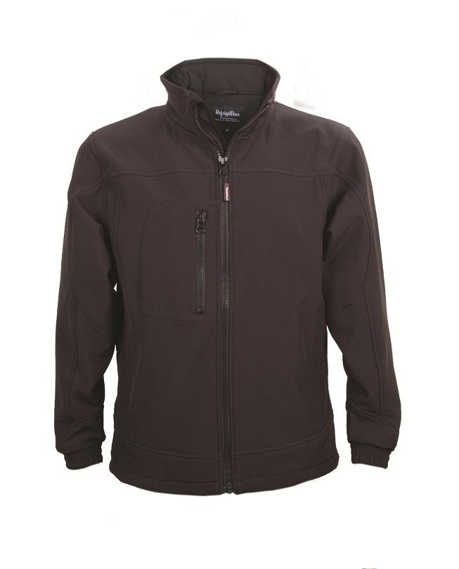 Mens Softshell Jacket Black 5xl