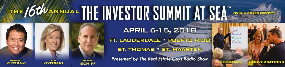 Rich Dad Poor Dad author Robert Kiyosaki is coming back again for yet another Investor Summit at Sea