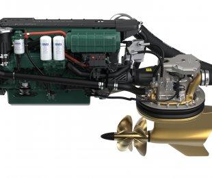 Twin Volvo D6 Diesel IPS600