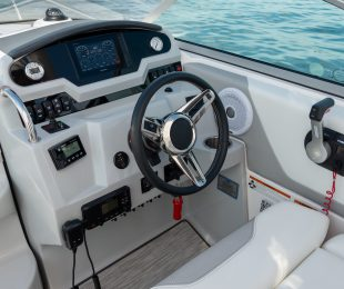 Hand-Wrapped Steering Wheel