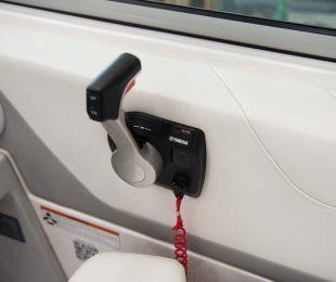 Binnacle Control with Safety Lanyard