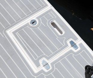 Swim Platform Ladder Cover