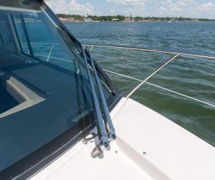Port and Starboard Windshield Wipers with Washers