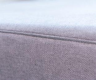 Salon Sofa: Herringbone