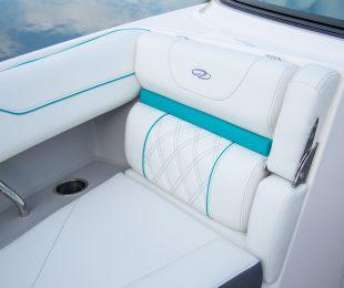 Cockpit - Titanium with Bimini Blue Accents