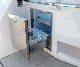 Aft Cockpit Refrigerator