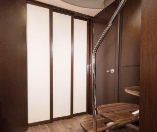 Hidden Pocket Door System for Stateroom Privacy