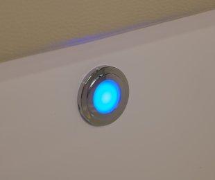 Courtesy Blue LED Lights