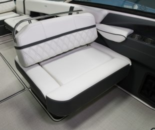Double Wide Companion Seat with Flip-up Bolster