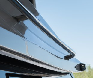 Stainless Steel Grab Rails For Foredeck Access