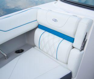 Cockpit - Titanium with Newport Blue Accents