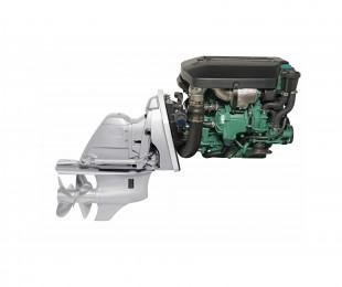 Twin Volvo D3 Diesel 220 OX EVC Joystick