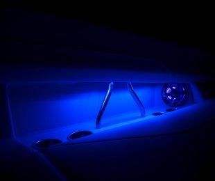 Blue LED Cockpit Lighting