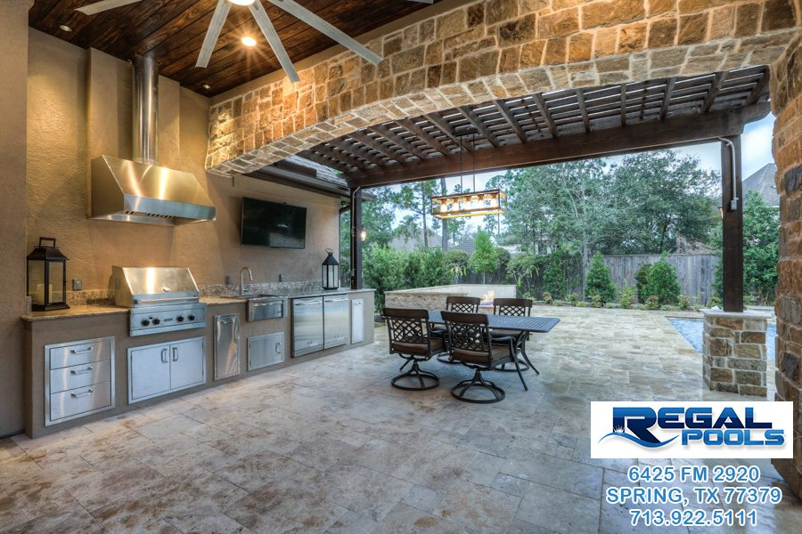 Outdoor Living Spaces Regal Pools The Woodlands Tx