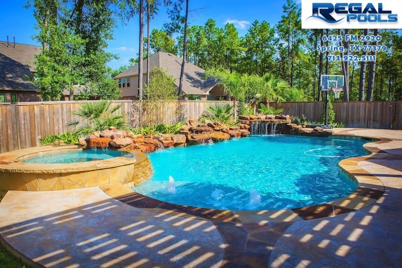 Pool designs gallery regal pools the woodlands tx for Pool design regrets